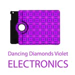 Electronics Abstract Dancing Diamonds Purple Violet