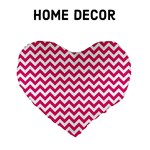 Hot Pink ZigZag - Home Decor