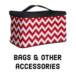 Poppy Red ZigZag - Bags & accessories