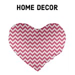 Soft Pink ZigZag - Home Decor