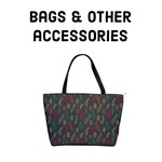 Autumn feather pattern - Bags & accessories