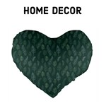 Forest Green Feathers - Home Decor