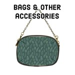 Forest Green Feathers - Bags & other accessories