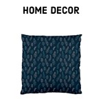 Midnight Blue Feathers - Home Decor