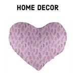 Pink & Purple feather pattern - Home Decor