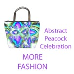 Fashion Abstract Peacock Celebration, Golden Violet Teal