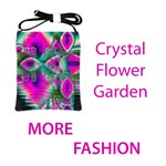Fashion Crystal Flower Garden, Abstract Teal Violet