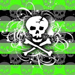 greendeathrockskull