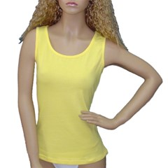 Women s Yellow Tank Top Icon