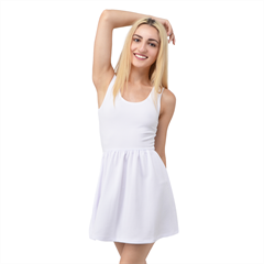 Scoop Neck Skater Dress Icon