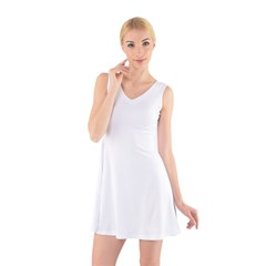 V-Neck Sleeveless Dress Icon