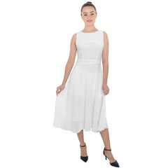 Midi Tie-Back Chiffon Dress Icon
