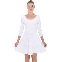 Quarter Sleeve Skater Dress Icon
