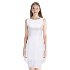 Sleeveless Chiffon Dress   Icon