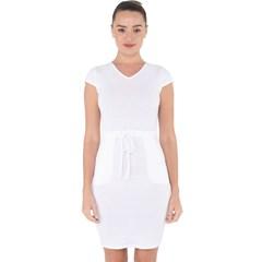 Capsleeve Drawstring Dress  Icon