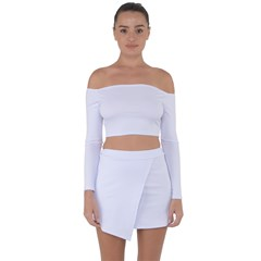 Off Shoulder Top with Mini Skirt Set Icon