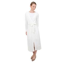 Velvet Maxi Wrap Dress Icon