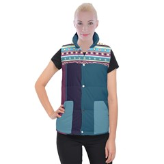 Women s Button Up Vest Icon