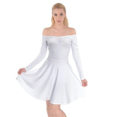 Off Shoulder Skater Dress Icon