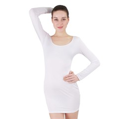 Long Sleeve Bodycon Dress Icon