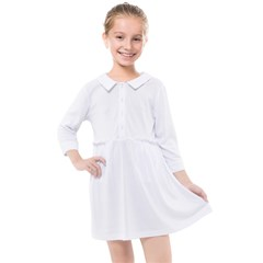 Kids  Quarter Sleeve Shirt Dress Icon
