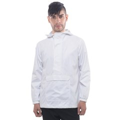 Men s Front Pocket Pullover Windbreaker Icon