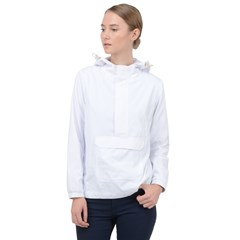 Women s Front Pocket Pullover Windbreaker Icon