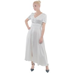 Button Up Short Sleeve Maxi Dress Icon