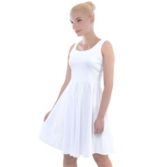 Knee Length Skater Dress Icon