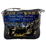 Chase Of The Witches Messenger Bag