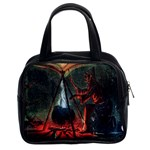 Witch s Whirl Waltzes  Classic Handbag (Two Sides)
