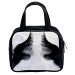 X Ray Of Bound Feet Classic Handbag (Two Sides)