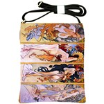 Four Seasons by Alphonse Mucha 1895 Shoulder Sling Bag