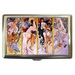 Four Seasons by Alphonse Mucha 1895 Cigarette Money Case