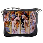 Four Seasons by Alphonse Mucha 1895 Messenger Bag