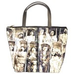 Communards In Their Coffins Bucket Bag