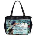 Mermaid Oversize Office Handbag (Two Sides)