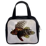 Vintage Lionfish Classic Handbag (Two Sides)