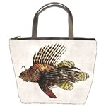 Vintage Lionfish Bucket Bag