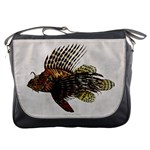 Vintage Lionfish Messenger Bag