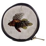 Vintage Lionfish Mini Makeup Bag