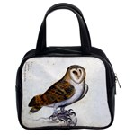 Vintage Owl Illustration Classic Handbag (Two Sides)