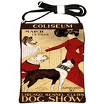Dog Show 1902 Shoulder Sling Bag