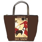 Dog Show 1902 Bucket Bag