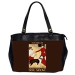 Dog Show 1902 Oversize Office Handbag (Two Sides)