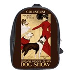 Dog Show 1902 School Bag (Large)