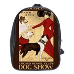 Dog Show 1902 School Bag (XL)