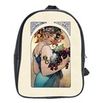 Fruit by Alfons Mucha 1897 School Bag (XL)