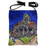 The Church at Auvers by Vincent van Gogh 1890 Shoulder Sling Bag