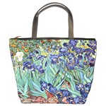 Irises by Vincent van Gogh 1898 Bucket Bag